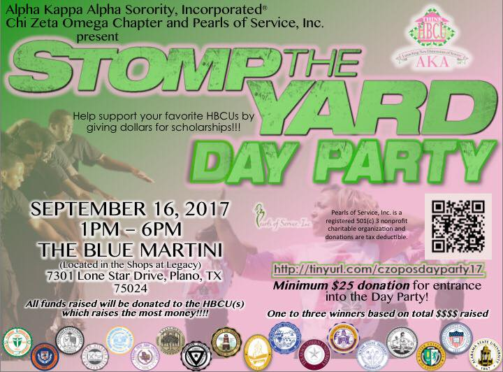 Stomp the Yard ~ Think HBCU Day Party